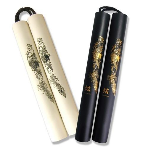 Fury Fight Gear Rubber Foam Nunchucks